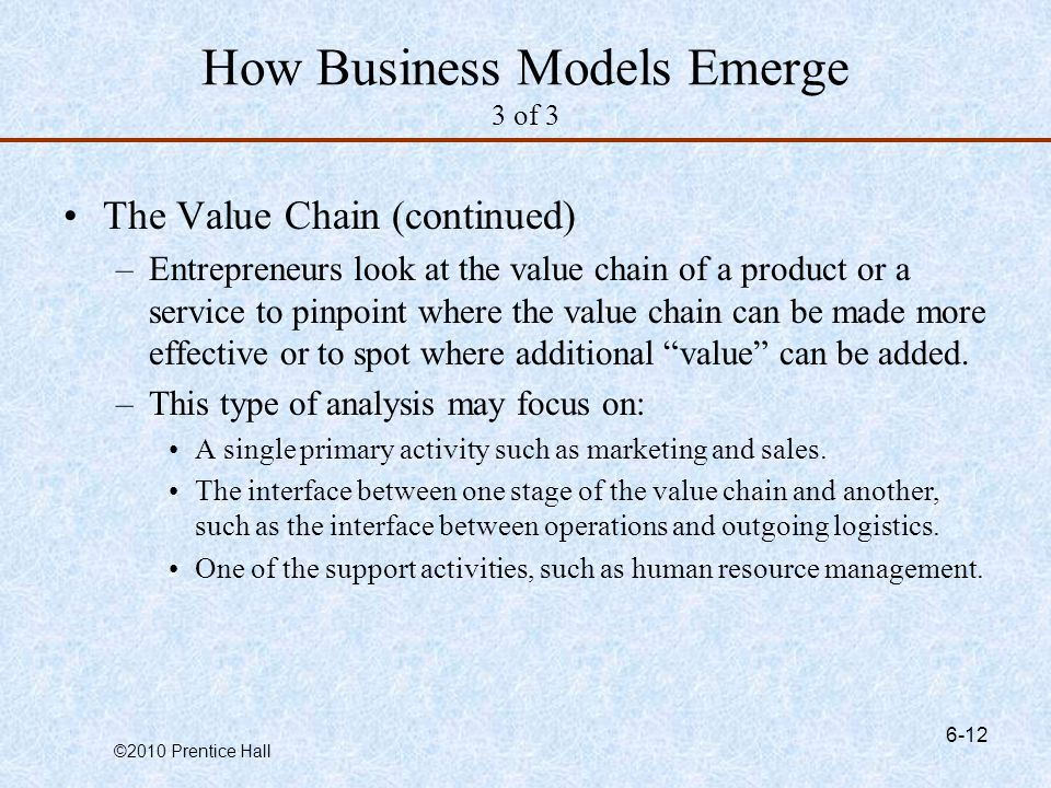 How Business Models Emerge 3 of 3