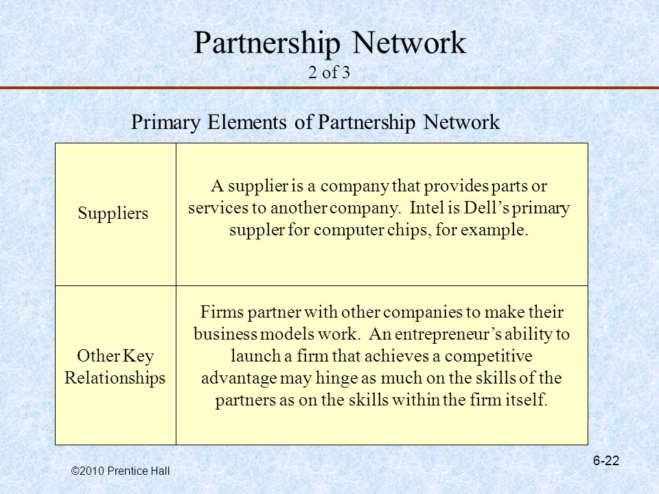 Partnership Network 2 of 3