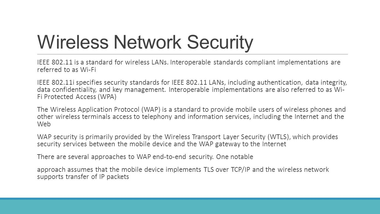Network and Internet Security - ppt download