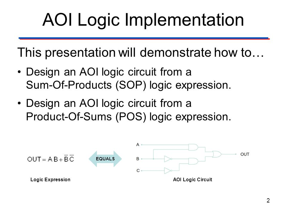 AOI Logic Implementation