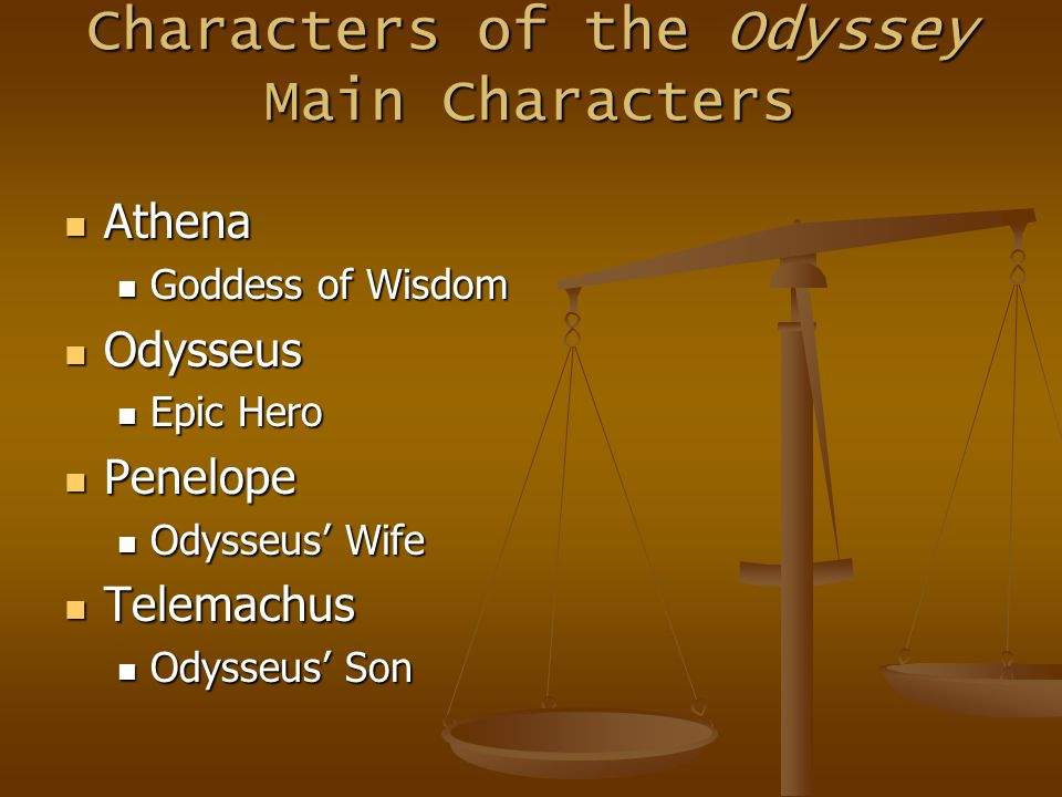 characteristics of athena in the odyssey