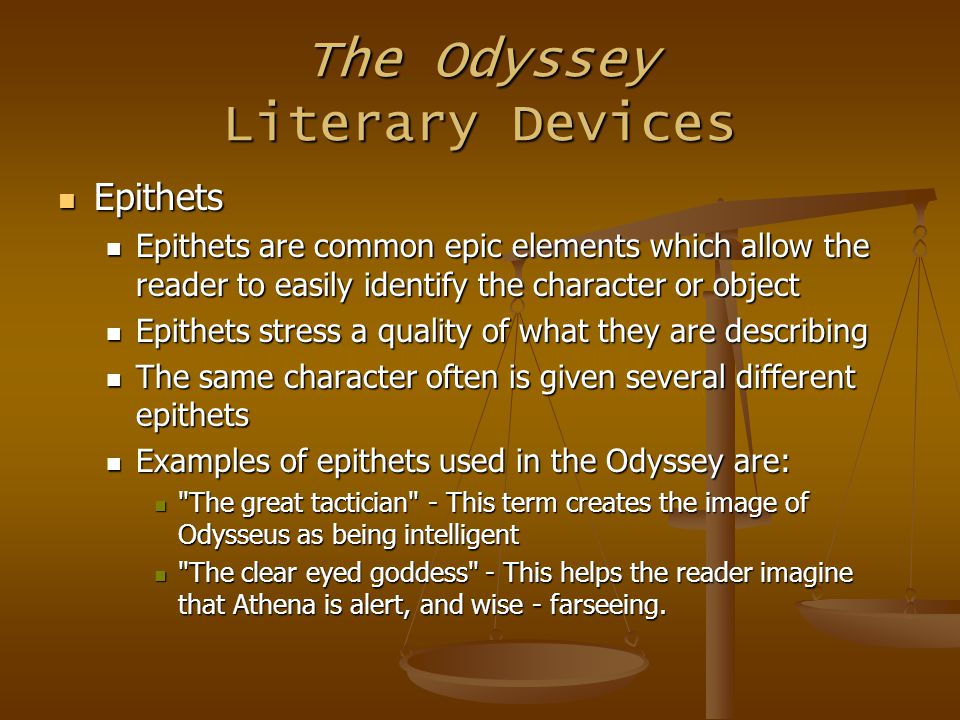character analysis of odyssues in homers odyssey Odysseus - the protagonist of the odyssey odysseus fought among the other greek heroes at troy and now struggles to return to his kingdom in ithaca odysseus is the husband of queen penelope and the father of prince telemachus though a strong and courageous warrior, he is most renowned for his.