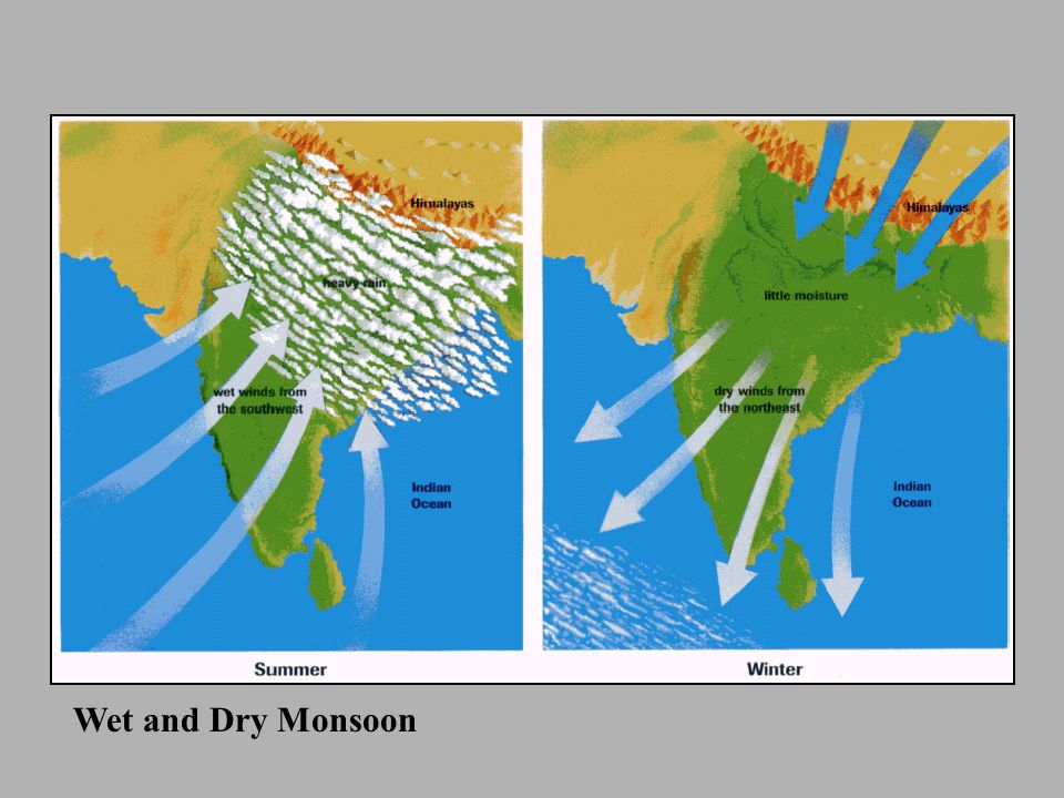 Wet and Dry Monsoon
