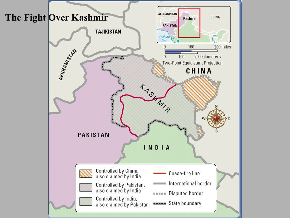 The Fight Over Kashmir