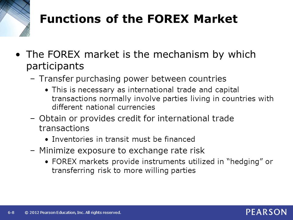 features of foreign exchange market pdf