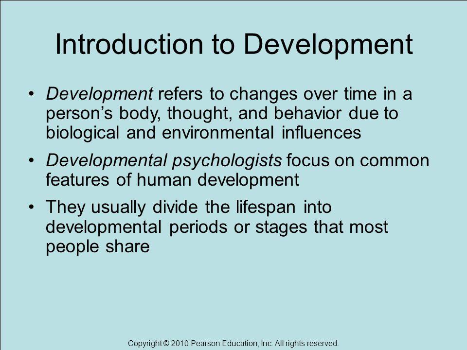 periods of human development psychology