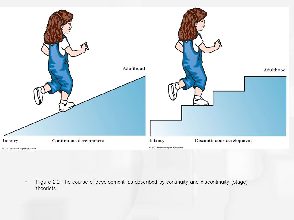 discontinuity vs continuity child development