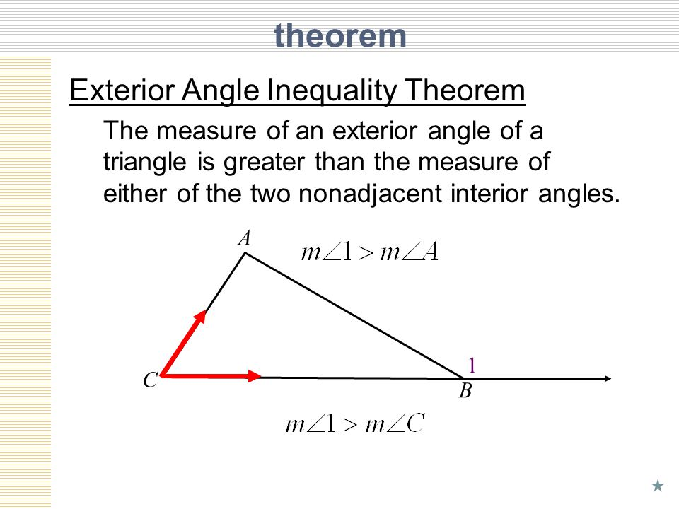 Unit 6 Lesson 6 Inequalities In One Triangle Ppt Download