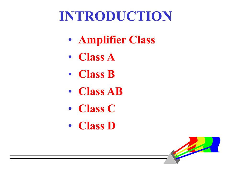 Principles & Applications Large-Signal Amplifiers - ppt download