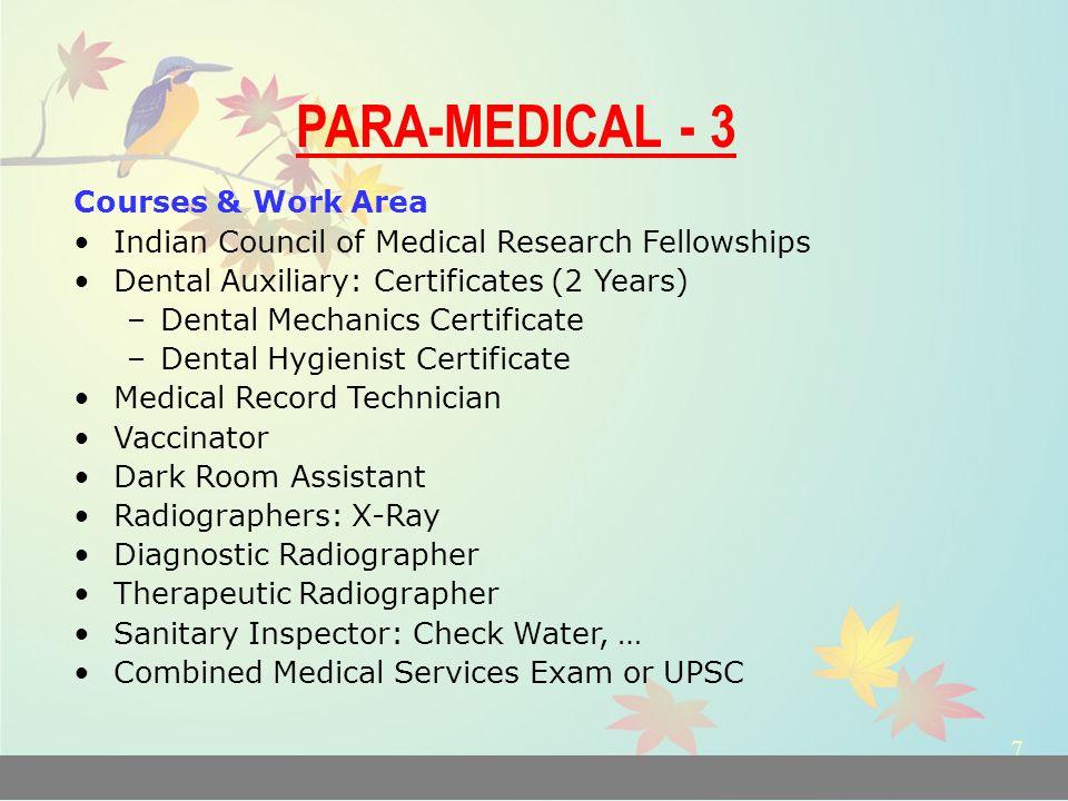 Careers In Medicine Mbbs Bums Bhms Bnys Bams Dental Sciences