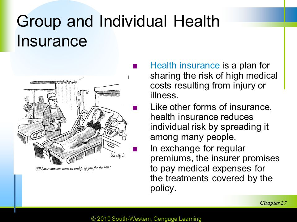 Group and Individual Health Insurance