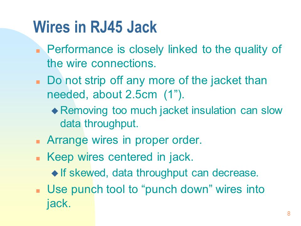 Structured Cabling Project - ppt download