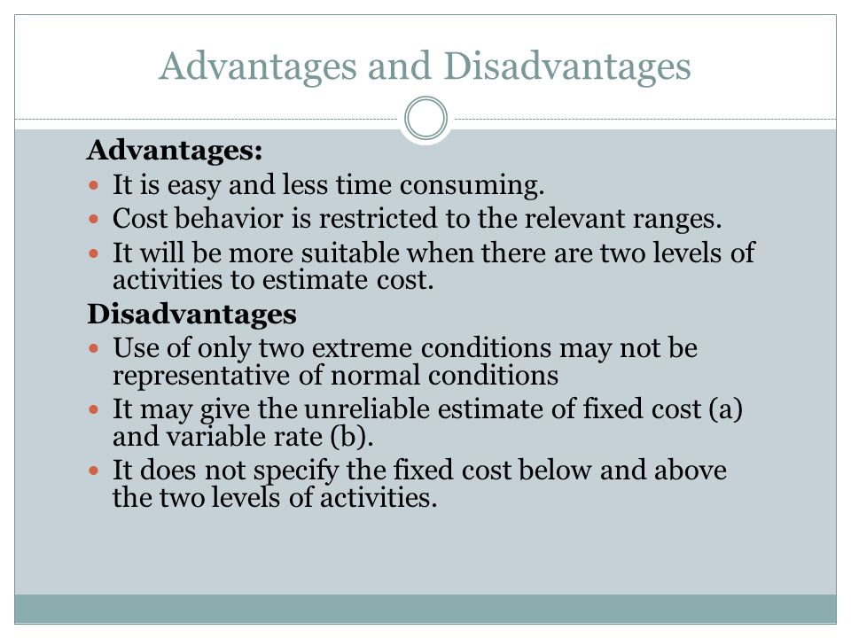 disadvantages of variable costing
