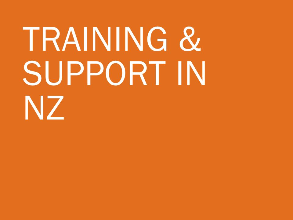 Training & Support in NZ