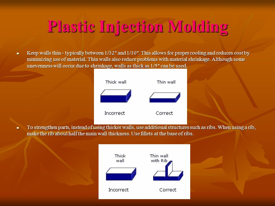 Plastic Injection Molding - ppt download