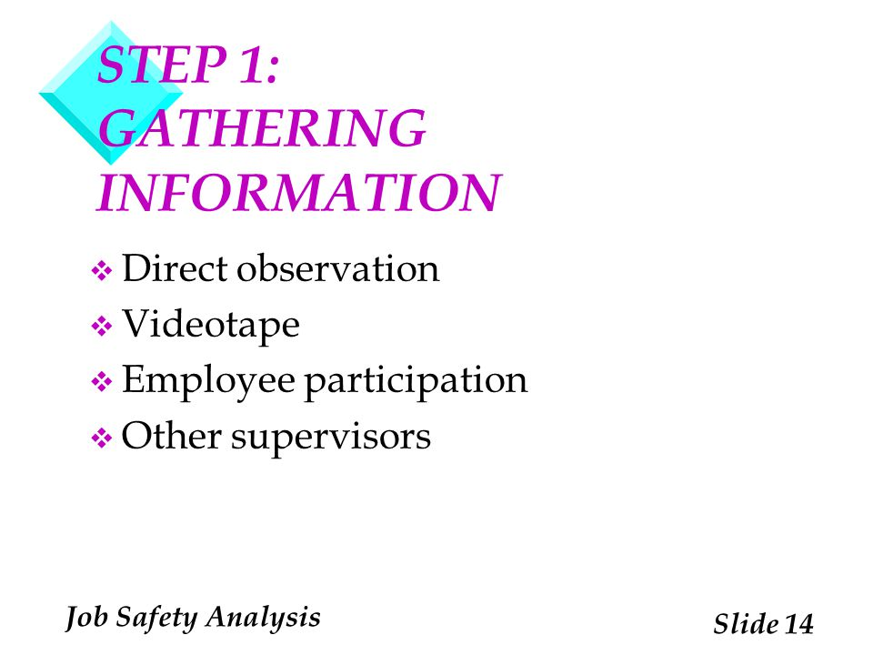 STEP 1: GATHERING INFORMATION