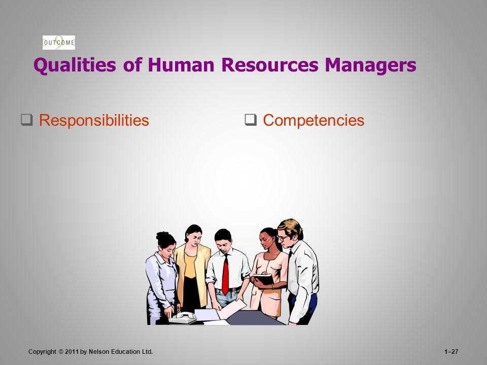 Qualities of Human Resources Managers