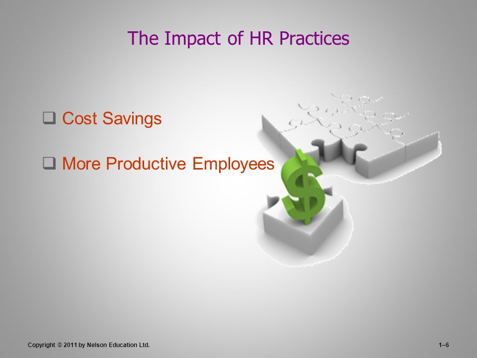 The Impact of HR Practices