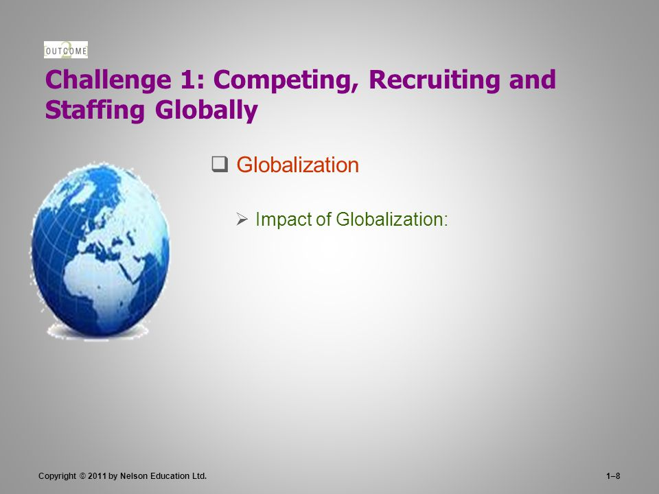 Challenge 1: Competing, Recruiting and Staffing Globally