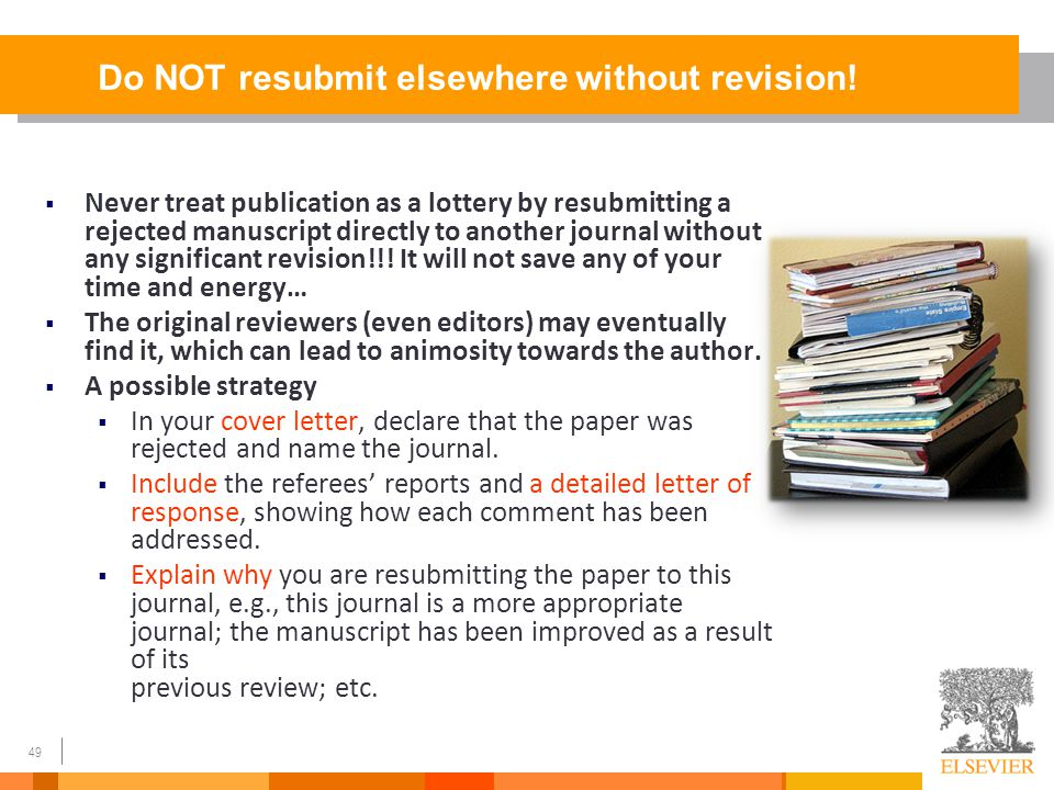 How To Get Your Article Published From title to references