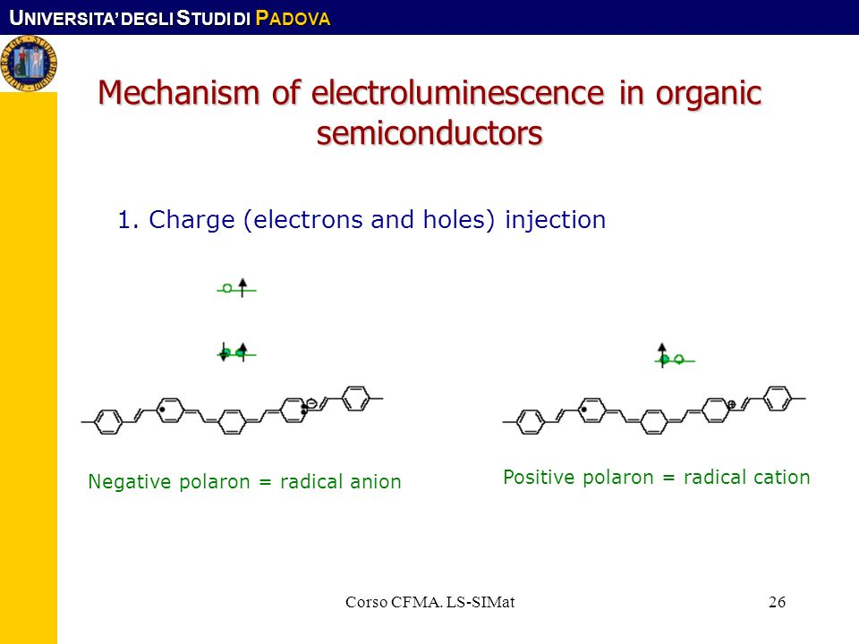 Mechanism of electroluminescence in organic semiconductors