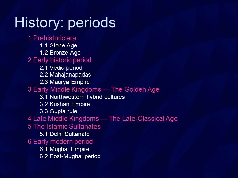 definitions of various history periods An extensive look into the periods of art  so did art, and art history has been divided into periods based on techniques and common trends.