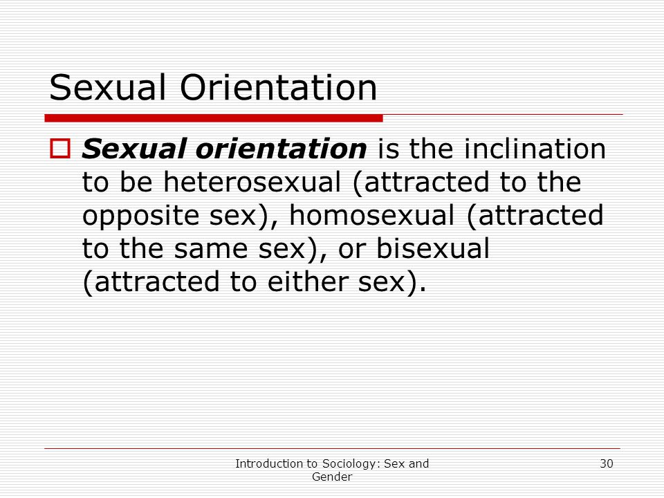 Bullying sexual orientation definition in sociology