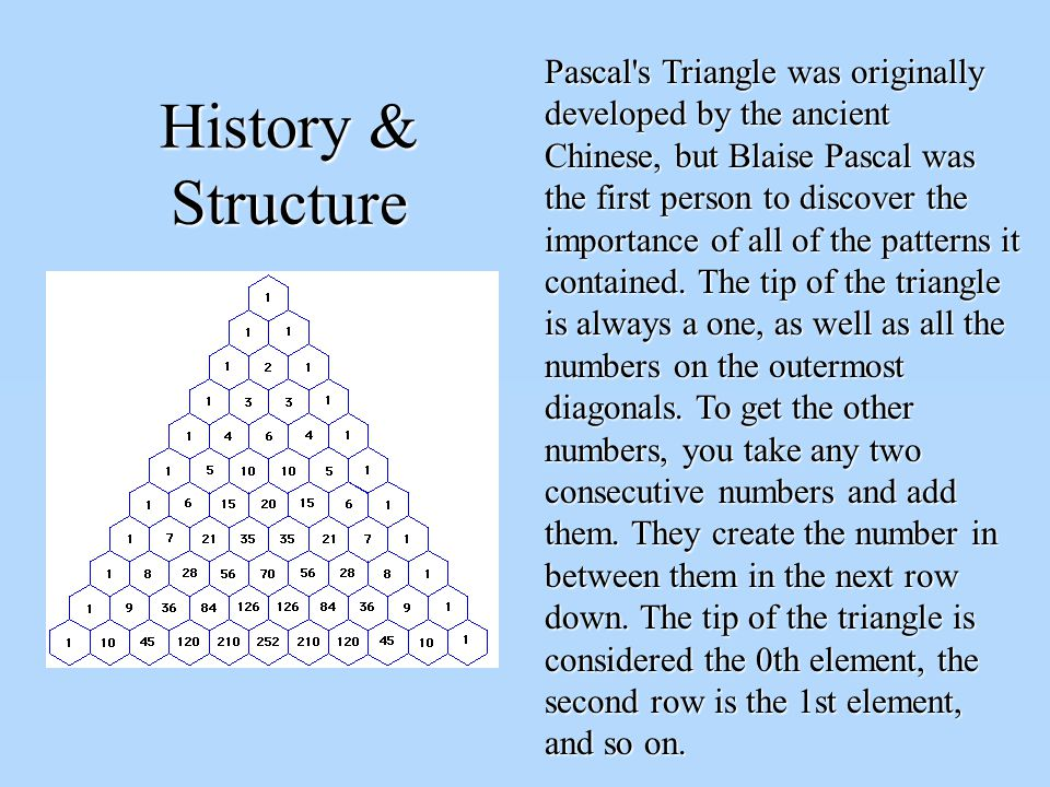 Pascal's Triangle By Brittany Thomas Ppt Video Online Download Custom Pascal Triangle Patterns