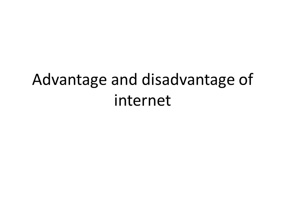 advantages and disadvantages of internet of things pdf