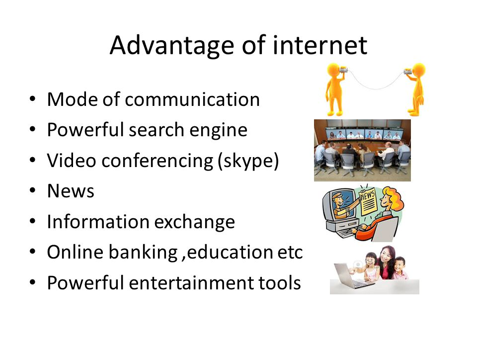 10 advantages of using internet