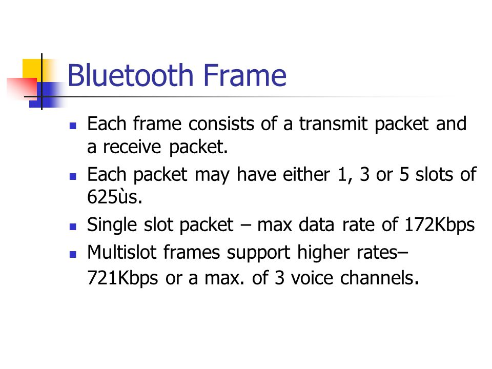 BLUETOOTH. - ppt download