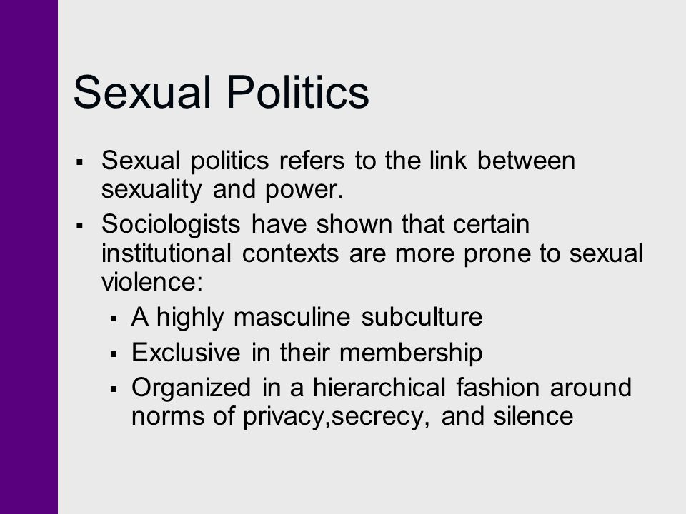 Sexuality and society sociology quiz
