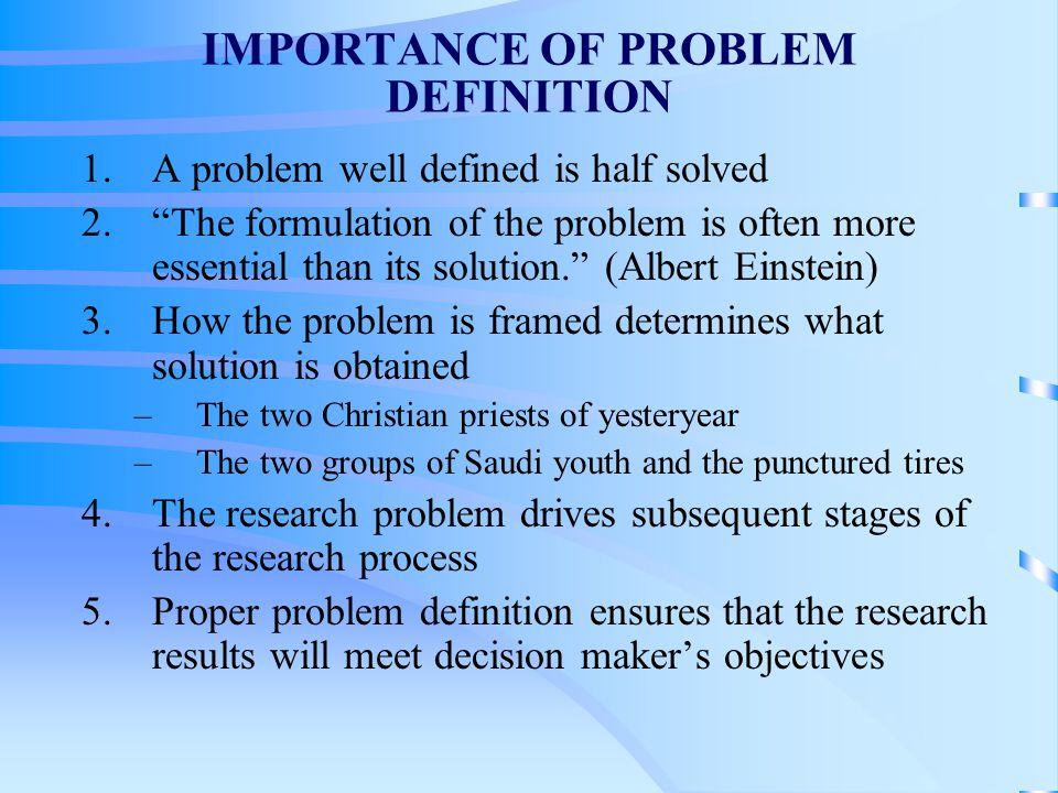Problem definition and the research proposal ppt web copy writer resume
