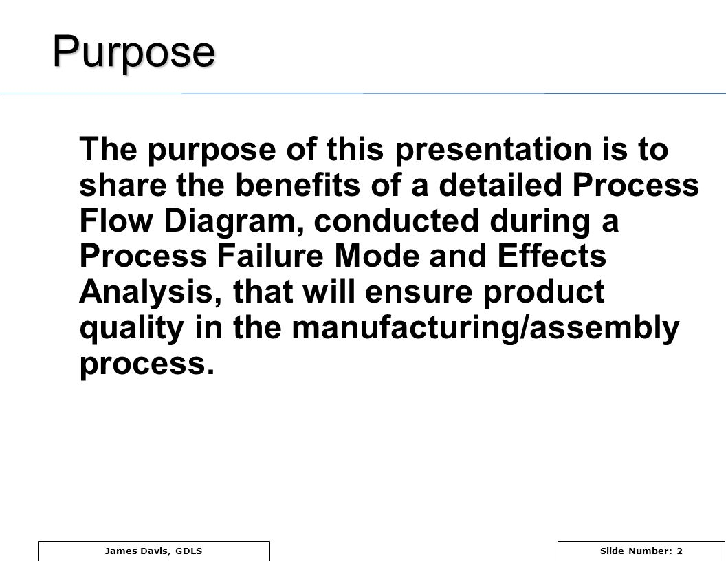 Pfmea Process Failure Mode And Effects Analysis Ppt Video Online Flow Diagram Quality 2