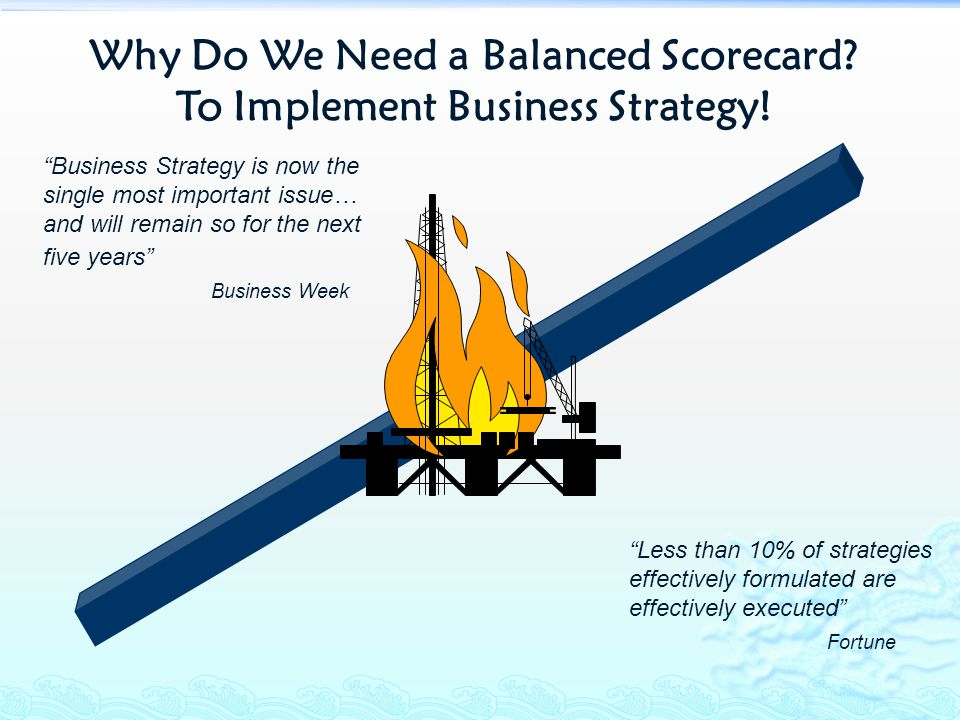 Why Do We Need a Balanced Scorecard To Implement Business Strategy!