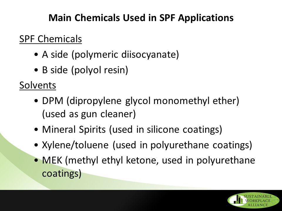 OSHA Safety and Health Regulations Related to SPF Applications - ppt