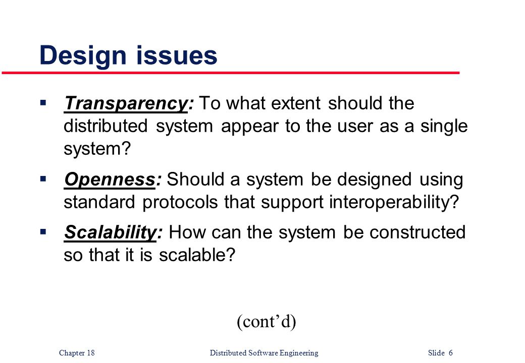 Distributed Software Engineering Ppt Download