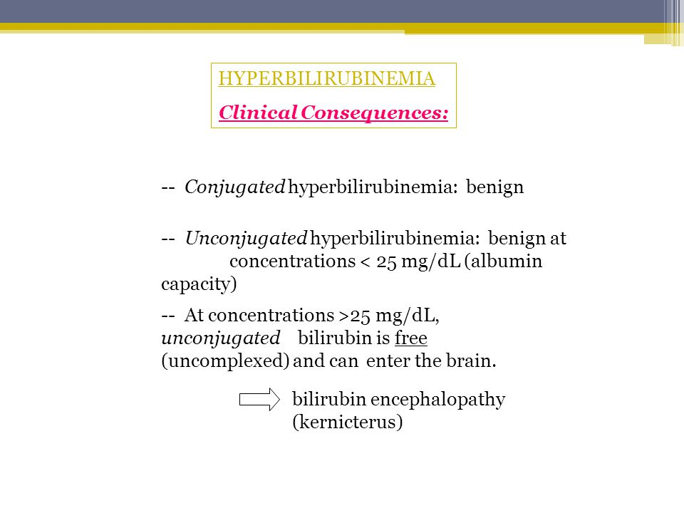 Clinical Consequences: