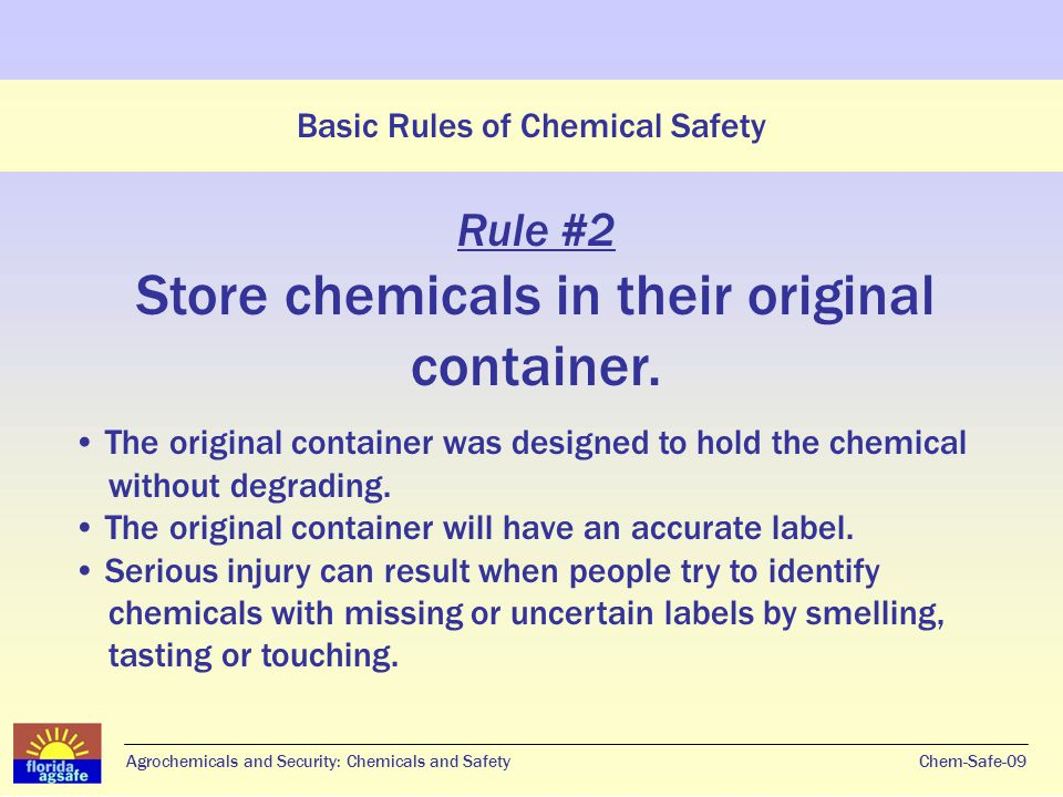 Agrochemicals and Security Chemicals and Safety - ppt video online