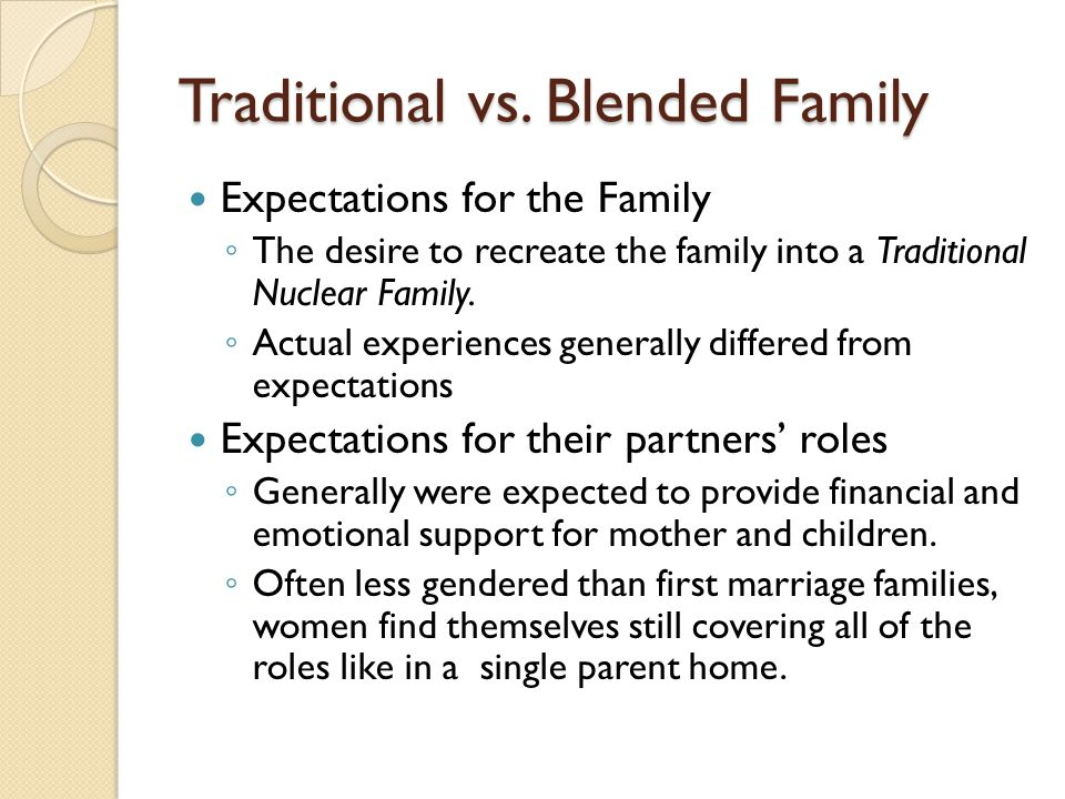 Blended Families and How They Function - ppt download
