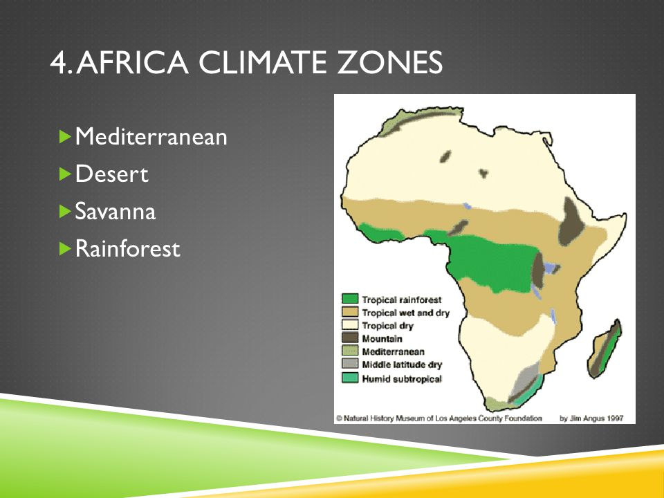 Map Of Africa Climate Zones.Introduction And Geography Ppt Download