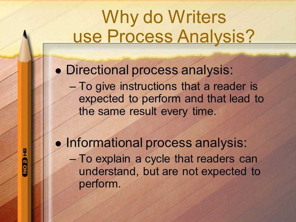 informational process analysis