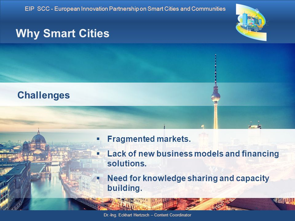Why Smart Cities Challenges Fragmented markets.