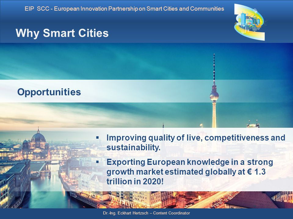 Why Smart Cities Opportunities