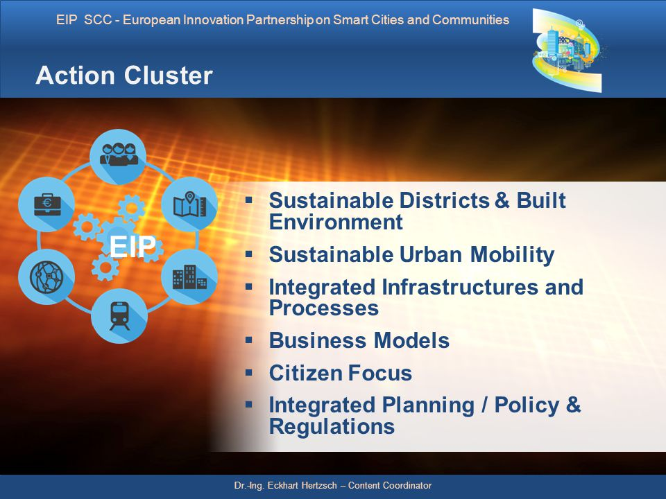 EIP Action Cluster Sustainable Districts & Built Environment
