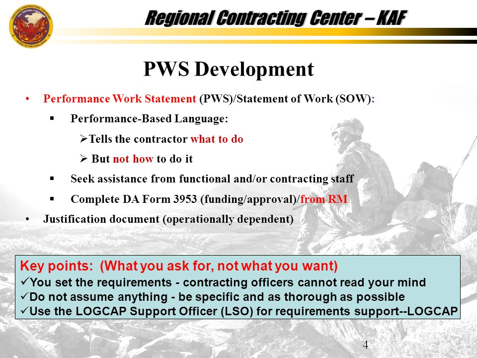Contracting Officer Representative (COR) Training - ppt download
