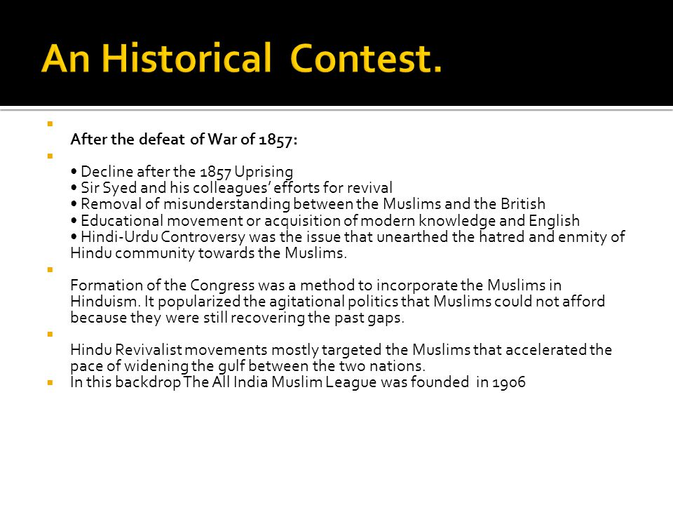 The Architect of Pakistan - ppt video online download