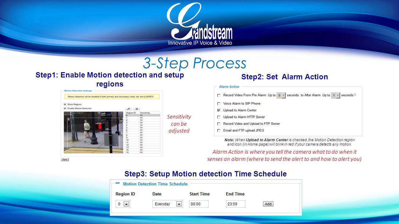 Using Motion Detection, Alerts and Alarms - ppt video online download