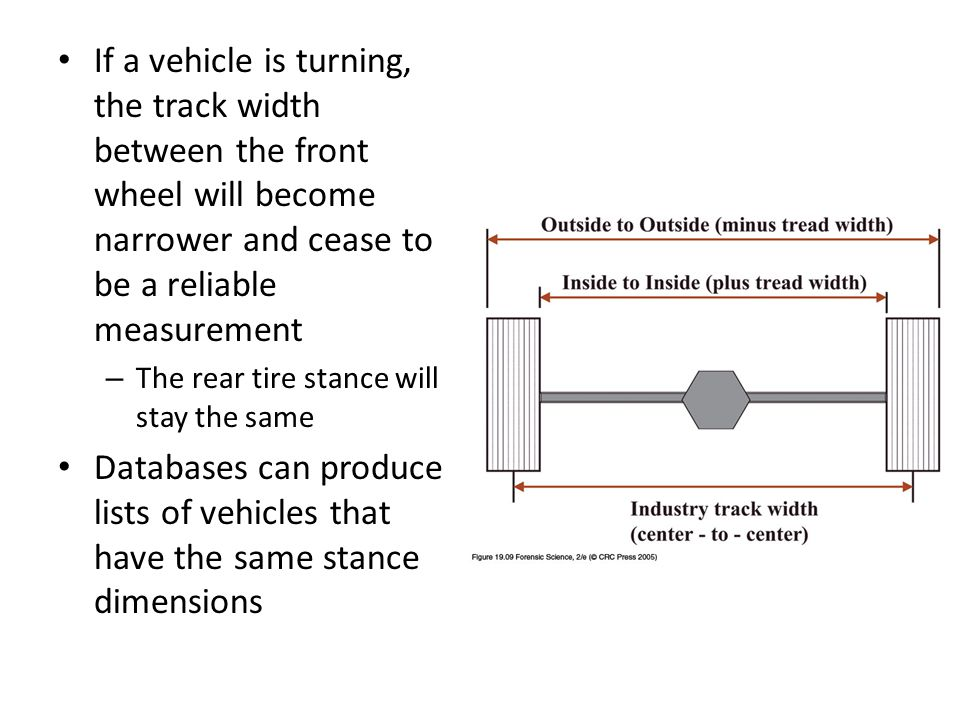 Forensic Tire Impression and Tire Track Evidence - ppt video online download