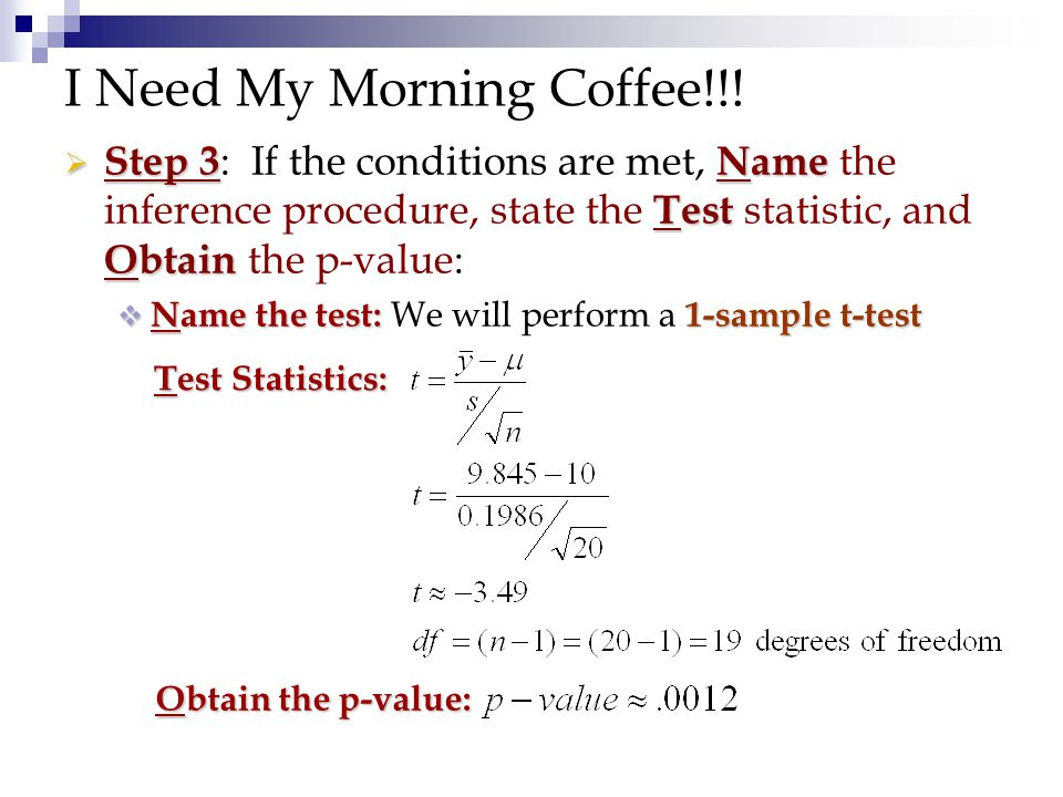 Chapter 23 Inference For Means Ppt Video Online Download